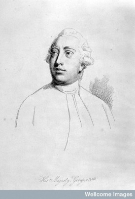 L0025614 King George III. Soft-ground etching by W. Daniell after G.