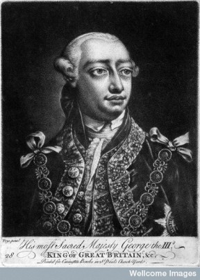 L0025613 King George III. Mezzotint after T. Frye.