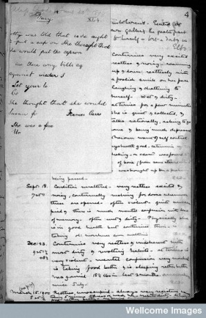 L0028860 Case notes: Holloway Sanatorium Hospital for the Insane